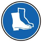 Příkaz k nošení ochrany nohou