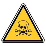 Výstraha, riziko toxicity