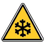 Nebezpečí - nízká teplota