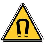 Nebezpečí - silné magnetické pole