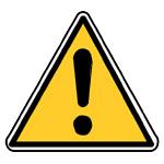 Varování, výstraha, riziko, všeobecné nebezpečí